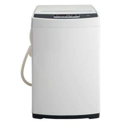1.3 cu. ft. Compact Top Load Washer in White with Stainless Steel Tub