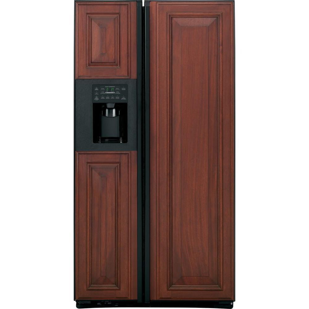 GE Profile 23.4 cu. ft. Side by Side Refrigerator in Black, Counter Depth