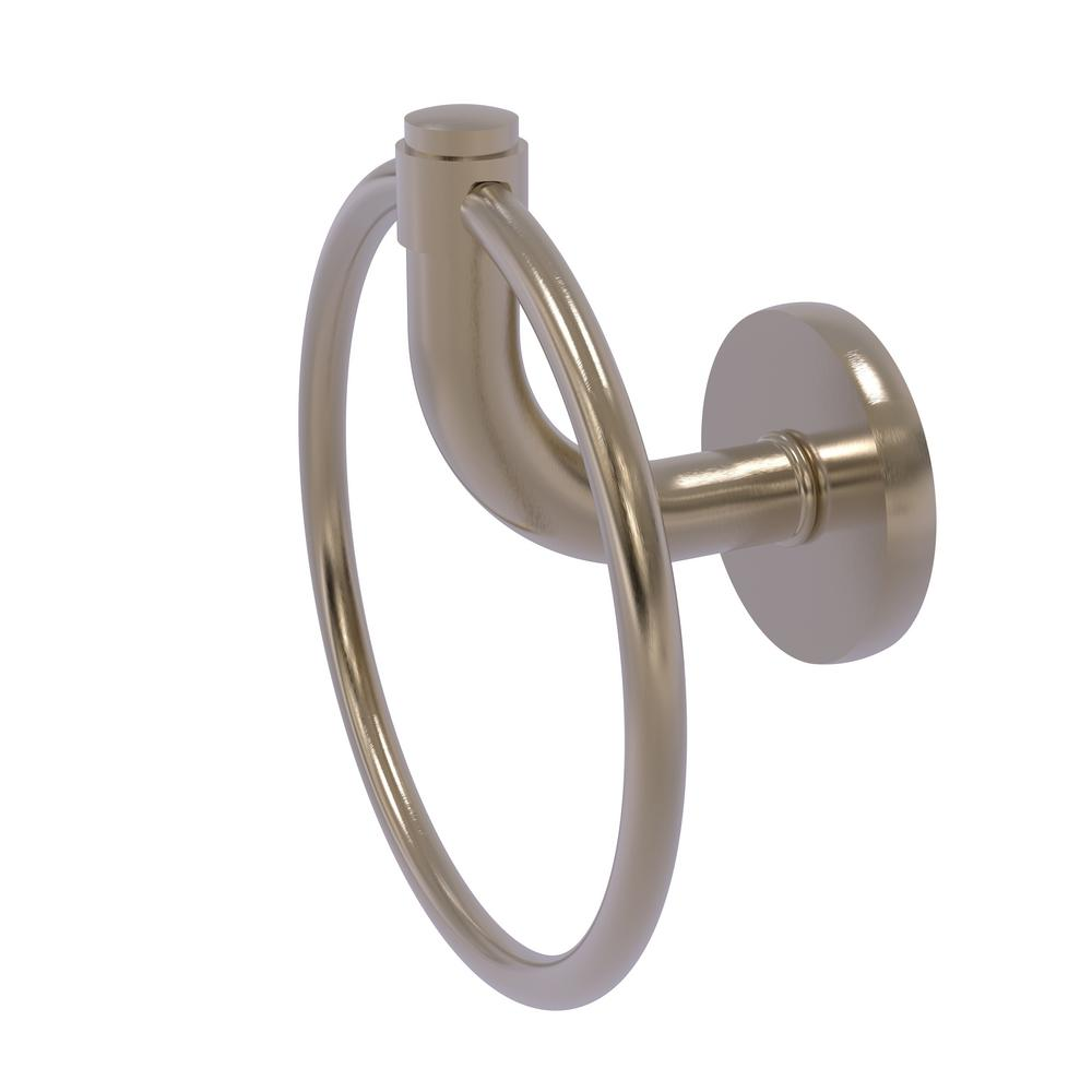 Allied Brass Remi Collection Towel Ring in Antique Pewter