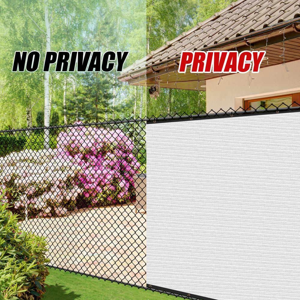 Amazon Com E K Sunrise 3 X 3 Privacy Fence Screen Mesh For Balcony Porch Deck Outdoor Protection Fencing Shield Net Patio Pool Backyard Rails Balcony Beige 200gsm Customized Garden Outdoor