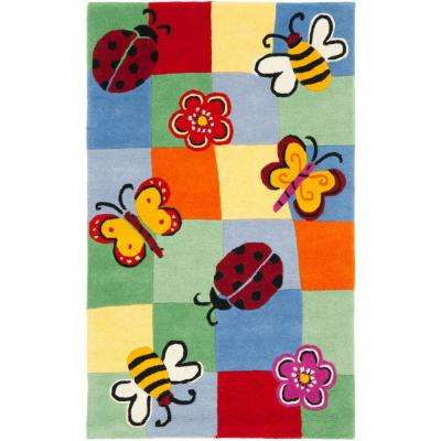 Kids Multi 3 ft. x 5 ft. Area Rug
