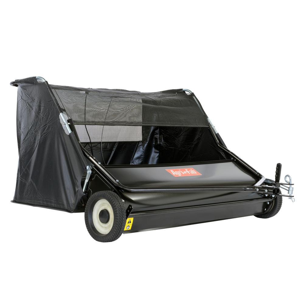agri fab 52 in tow lawn sweeper 45 0546 the home depot. Black Bedroom Furniture Sets. Home Design Ideas