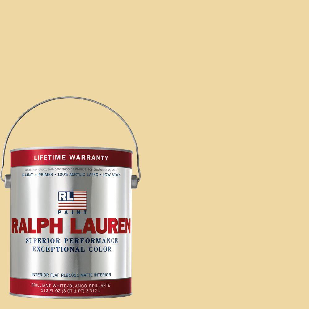Ralph Lauren 1-gal. Yellowhammer Flat Interior Paint