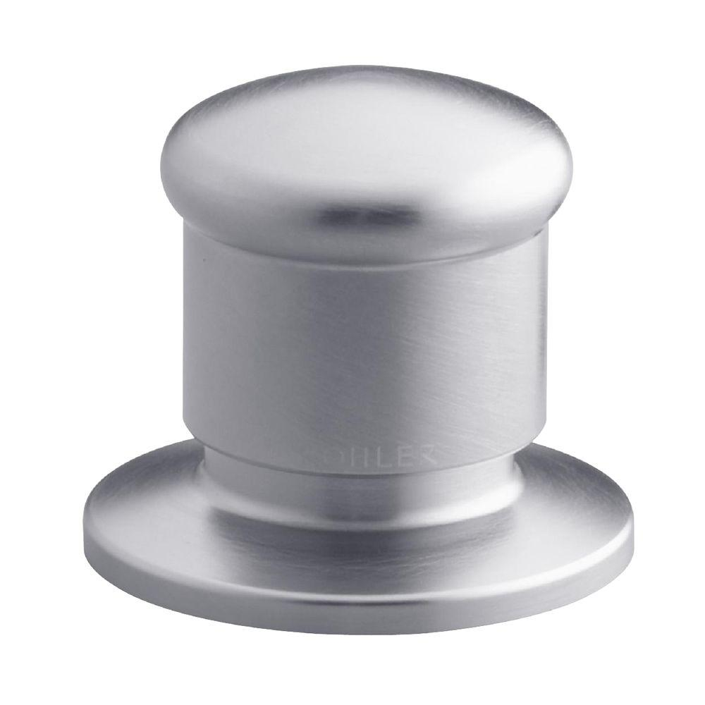 KOHLER Deck-Mount 2-Way Diverter Valve, Brushed Chrome