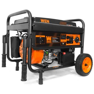 4750-Watt Gasoline Powered Portable Generator with Electric Start