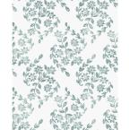 Teal Pomfret Greens Vinyl Strippable Roll (Covers 30.75 sq. ft.)