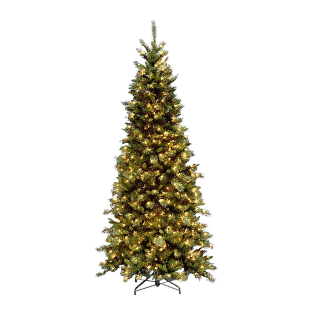 National Tree Company 9 ft. Tiffany Slim Fir Artificial Christmas ...
