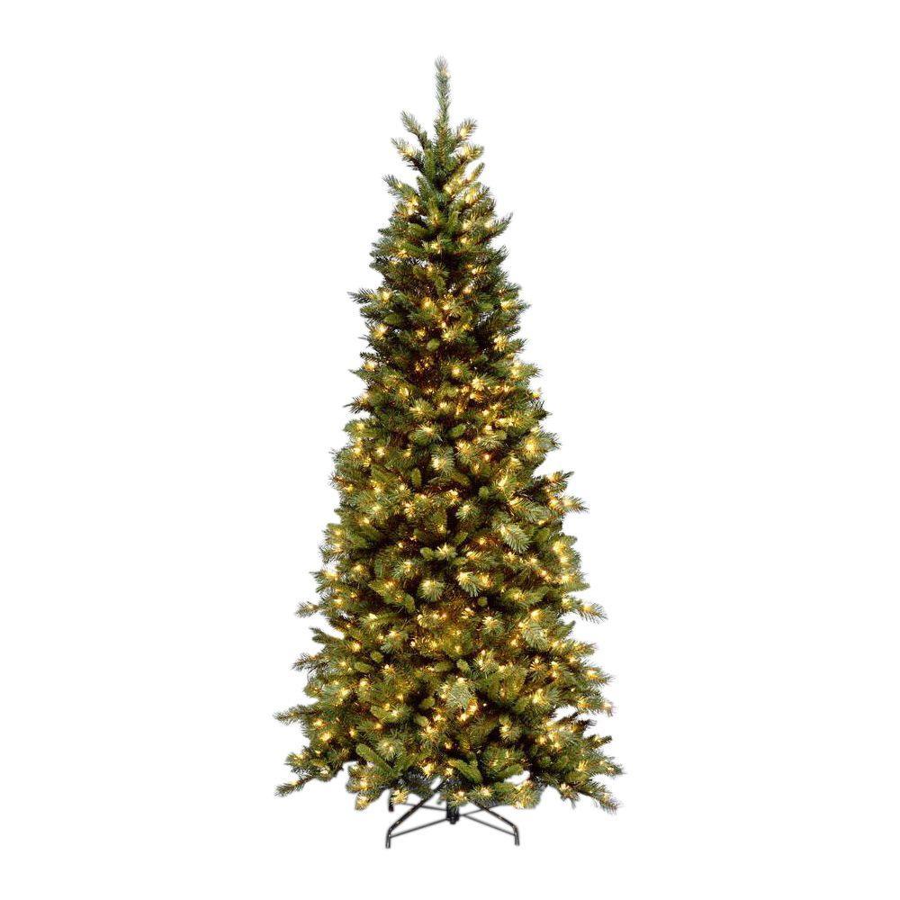 9 ft. Tiffany Slim Fir Artificial Christmas Tree