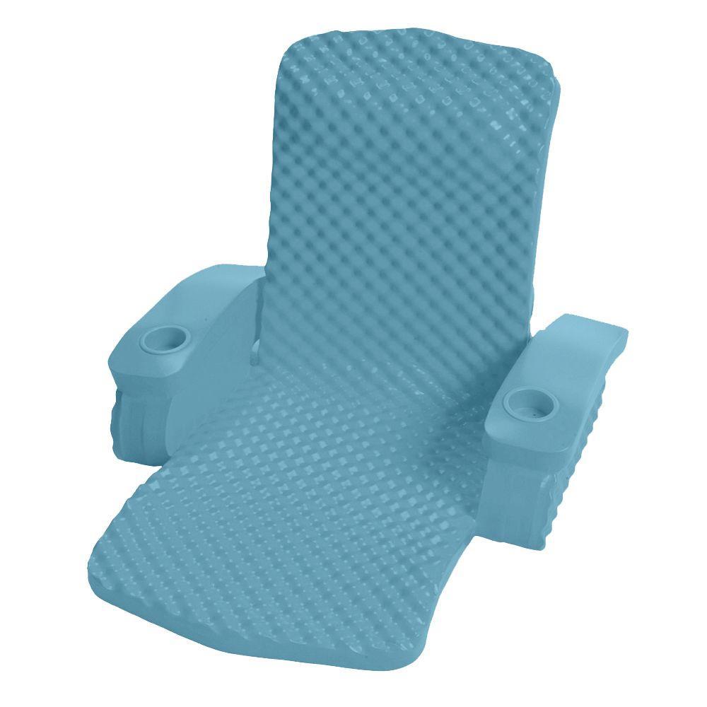 Super Soft Baja Aquamarine Folding Pool Chair