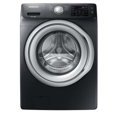 4.5 cu. ft. High Efficiency Front Load Washer in Black Stainless Steel, ENERGY STAR