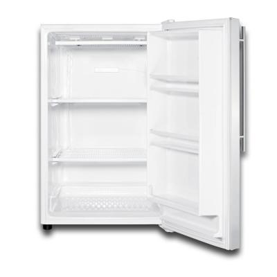 5 cu. ft. Upright Freezer In Stainless Steel
