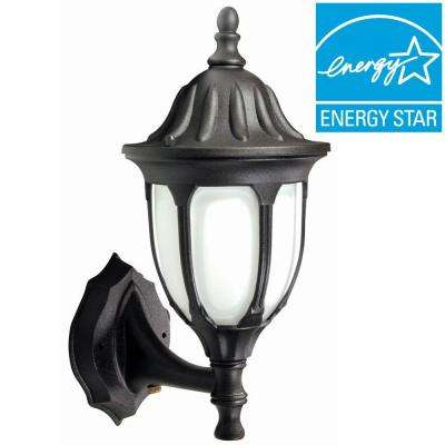 Max Lite Outdoor Black Wall Sconce