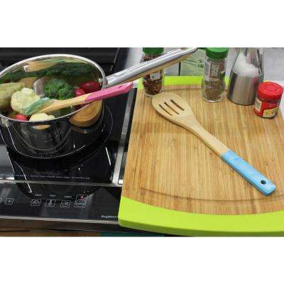 CooknCo Multi-Color Bamboo Utensil (Set of 6)