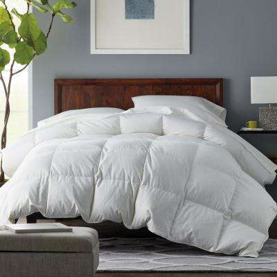Alberta Extra Warmth White King Euro Down Comforter
