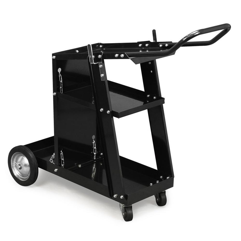 Welding Tank Cart Rolling Casters Tool Storage Drawers Garage Metal Shop Auto