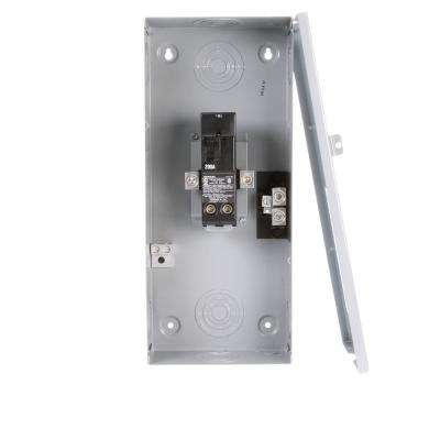 200 Amp 2-Space 2-Circuit Small Main Breaker Indoor Load Center Enclosures Type EQ
