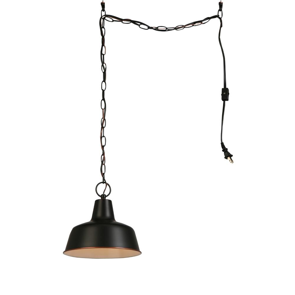 Rubbed Bronze Kitchen Ceiling Light