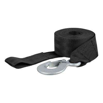 20' Winch Strap with Snap Hook (1,100 lbs.)