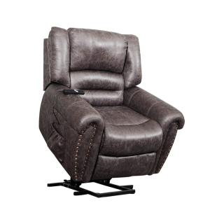 Sensational Merax Brown Electric Power Lift Recliner Chair With Remote Pabps2019 Chair Design Images Pabps2019Com