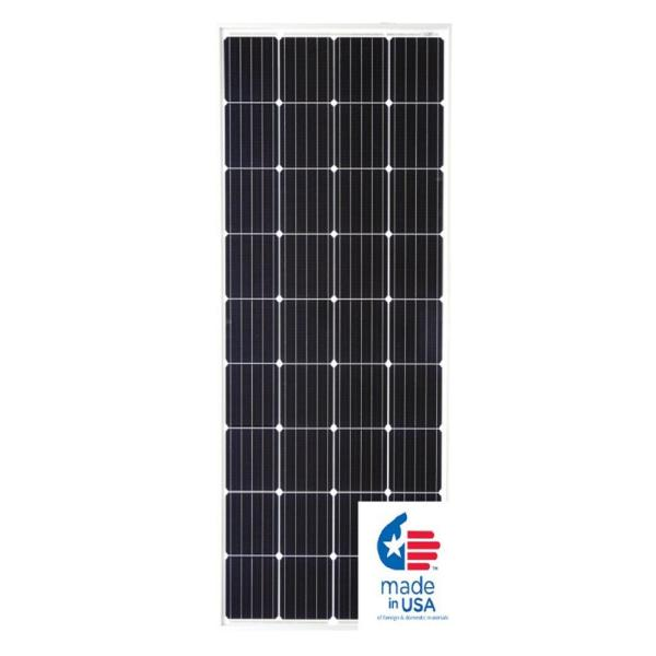 Renogy 300 Watt 24 Volt Monocrystalline Solar Panel For Residential Commercial Rooftop Back Up System Off Grid Application Rng 300d The Home Depot