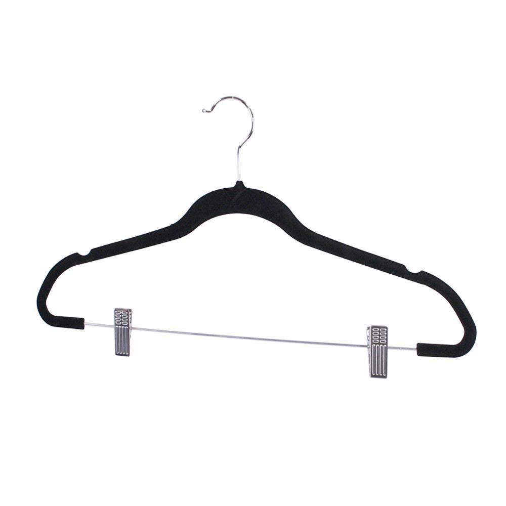 Black Velvet Hanger (5-Pack)
