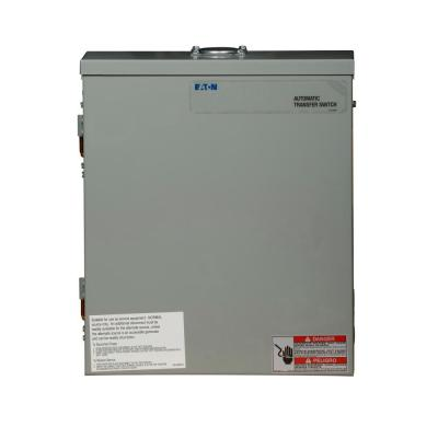 100 Amp Green Automatic Transfer Switch with Surge Protection