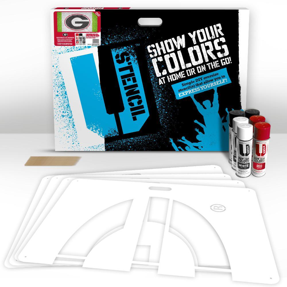U Stencil Georgia G Lawn Stencil Kit