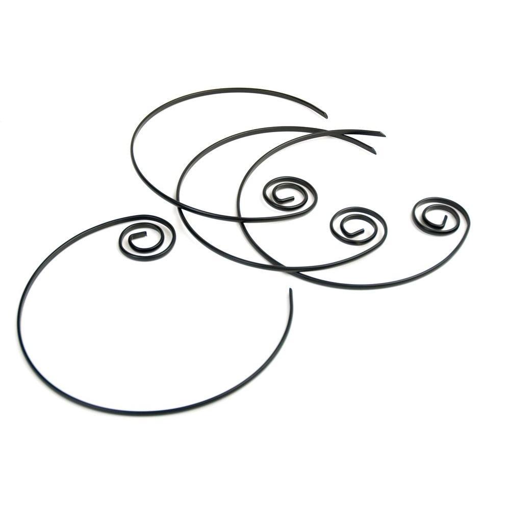 Non-Stick Circle Kabob Skewers (Set of 4)