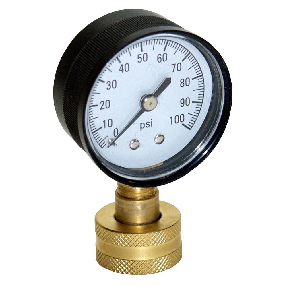 Water Test Pressure Gauge