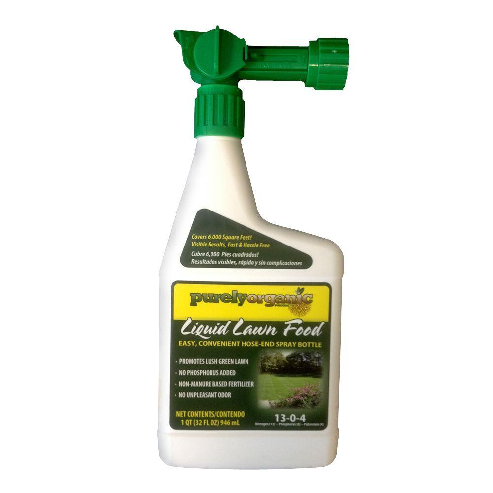 Purely Organic Products 32 Oz Liquid Lawn Food