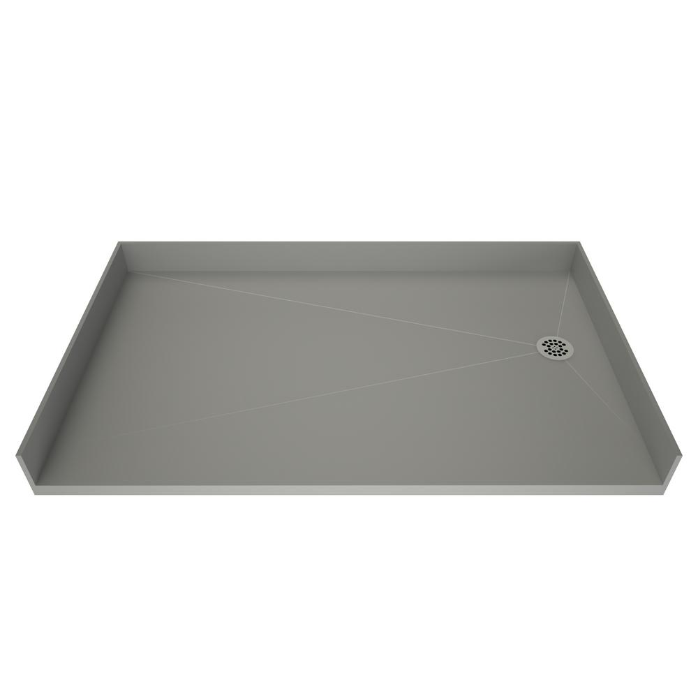 Tile Redi Free 30 In X 60 Barrier Shower Base With Right Drain
