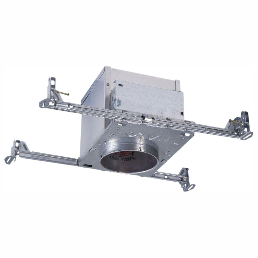 Halo H995 4 In Aluminum Led Recessed Lighting Housing For New Construction Ceiling T24 Ic Rated Air E 6 Pack