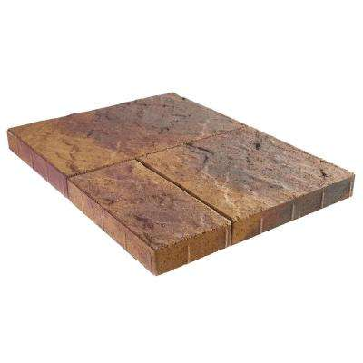 Panorama Supra 3-pc 15.75 in. x 15.75 in. x 2.25 in. Sierra Blend Concrete Paver (60 Pcs. / 103 Sq. ft. / Pallet)