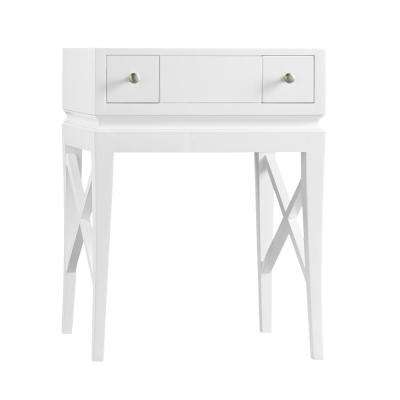 Angelica 23 in. W x 31 in. H Vanity Cabinet Only in White