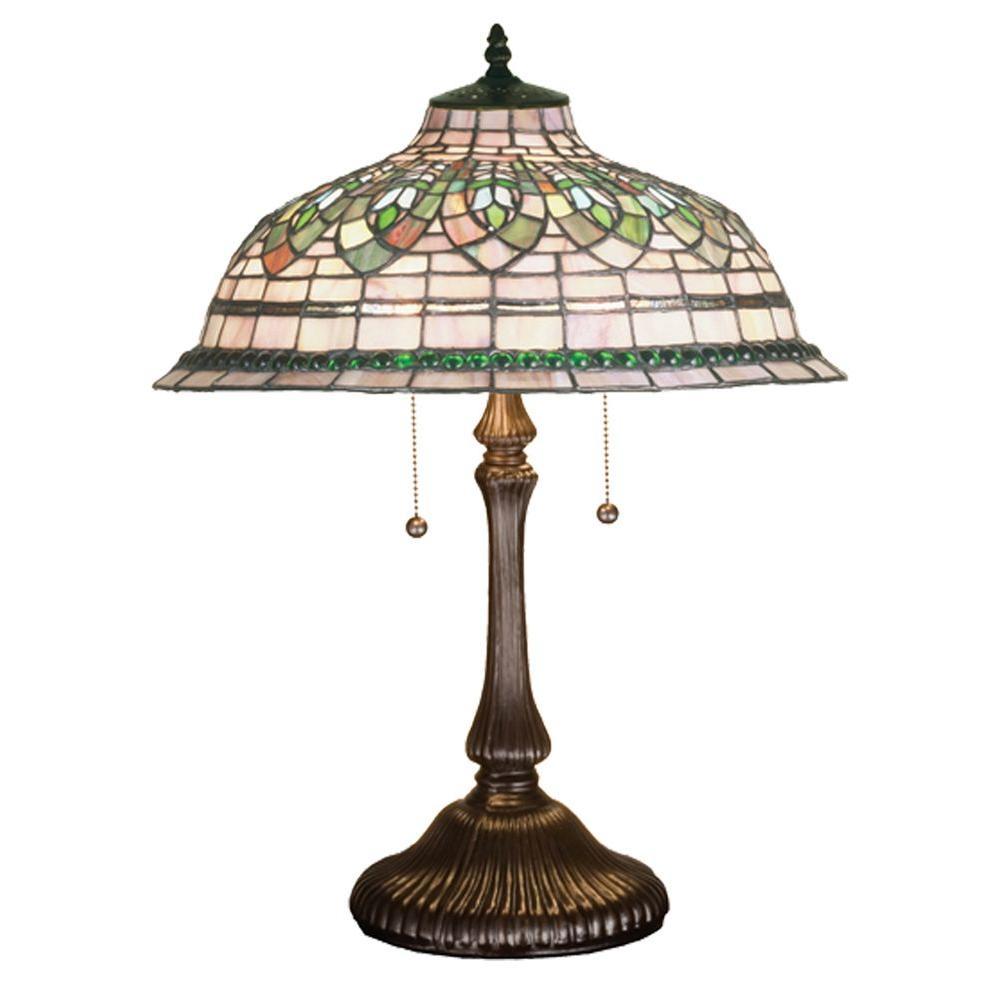 Illumine 2 Tiffany Gentian Table Lamp