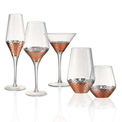 16 oz. Hammered Wine Glass (Set of 4)