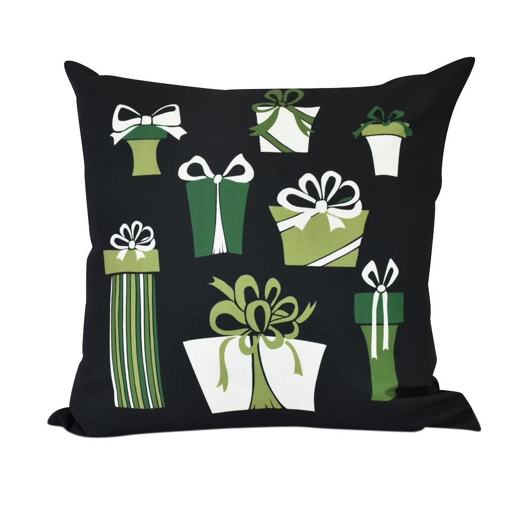 20 in. Present Time Indoor Decorative Pillow PHG956BK4-20