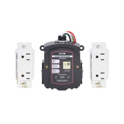 Whole House Surge Protector and Two Surge Receptacles