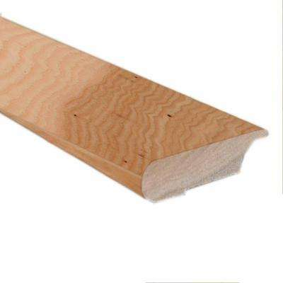 Hickory Golden Rustic 0.81 in. Thick x 3 in. Wide x 78 in. Length Lipover Stair Nose Molding