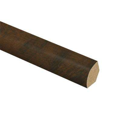 Antique Cherry 5/8 in. Thick x 3/4 in. Wide x 94 in. Length Laminate Quarter Round Molding