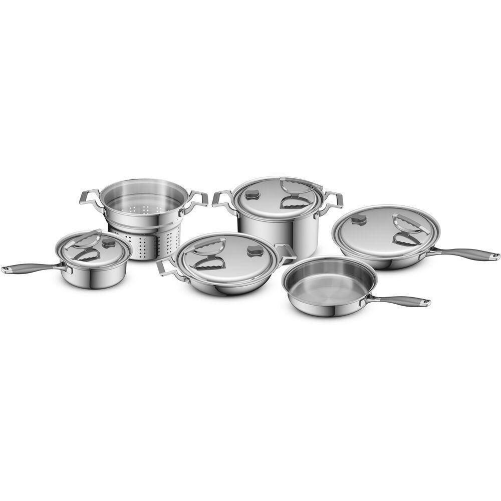 Original 10-Piece Stainless Steel Cookware Set