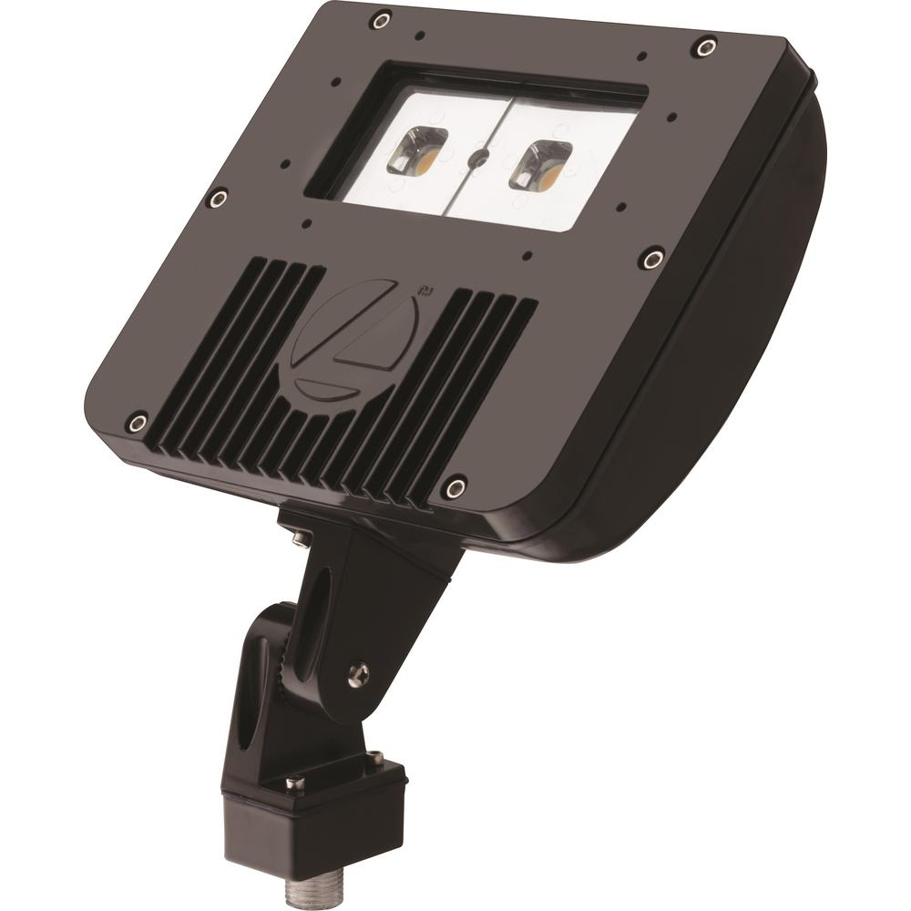 Lithonia Lighting Outdoor Dark Bronze LED Flood Light