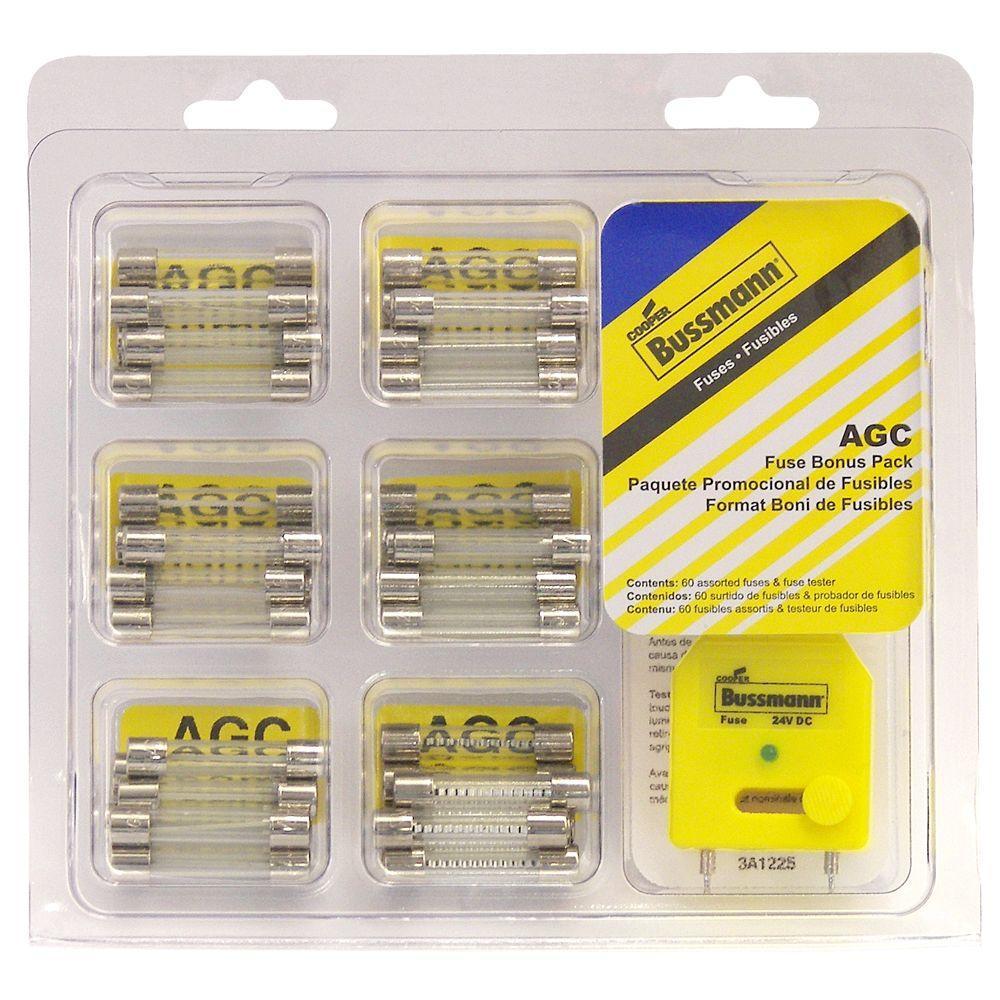 null 30 Amp Glass Fuse Bonus Pack