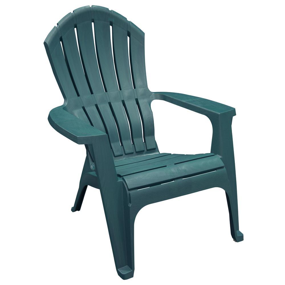 Realcomfort Charleston Resin Plastic Adirondack Chair 8371 97 4301 The Home Depot