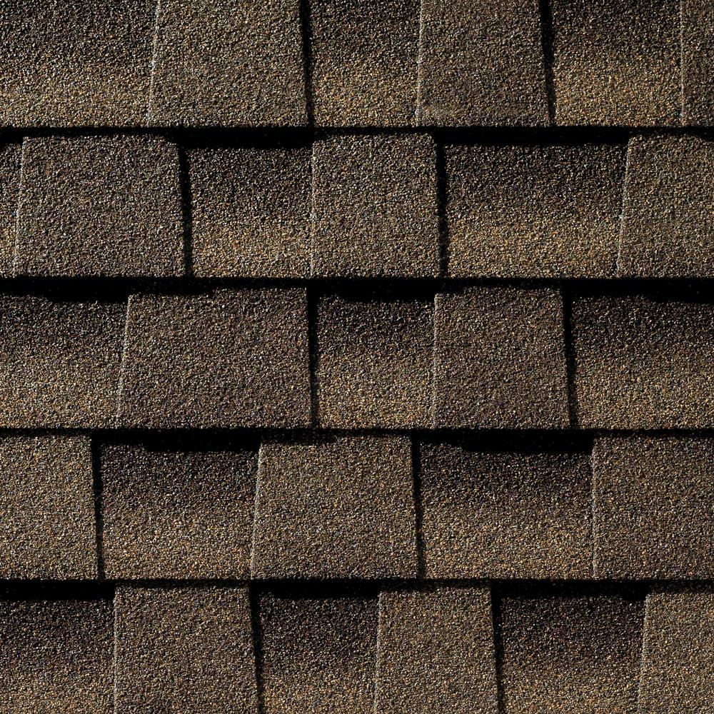 Timberline HD Barkwood Lifetime Architectural Shingles 333 Sq Ft Per Bundle