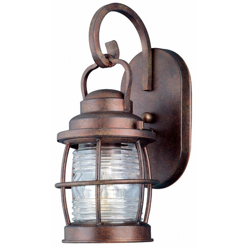 Copper bronze outdoor wall mounted lighting outdoor lighting beacon 1 light mozeypictures Images