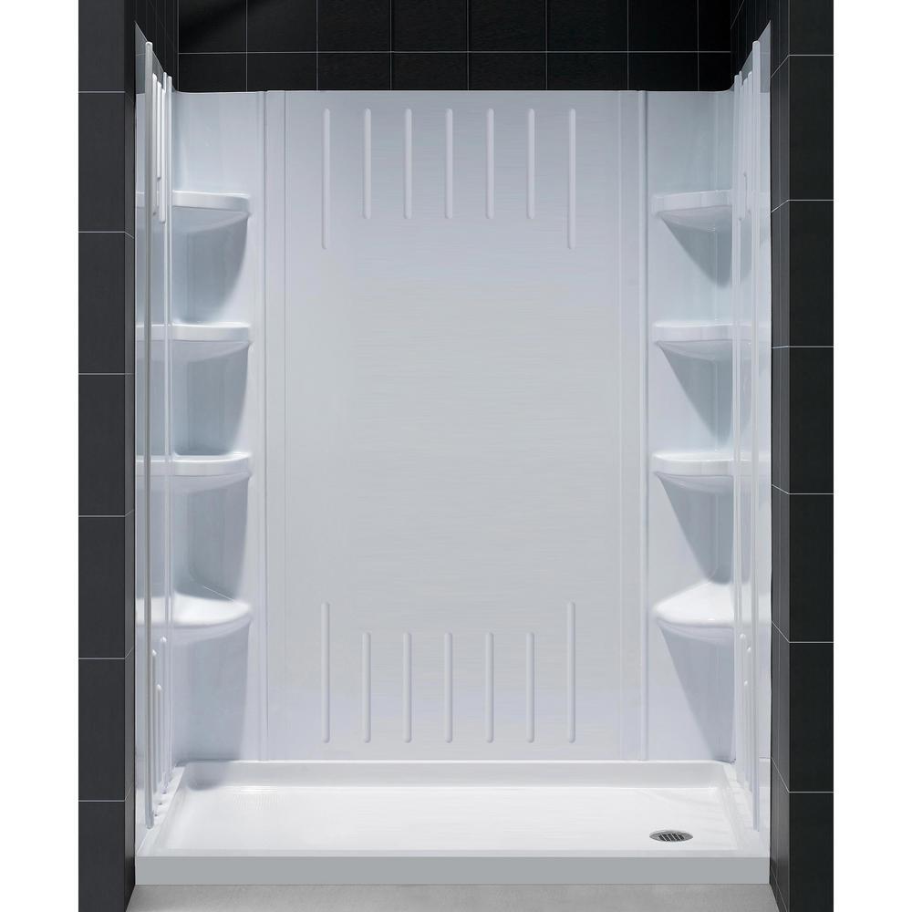 SlimLine 30 in. x 60 in. Single Threshold Shower Base in