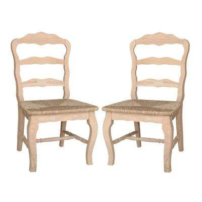 unfinished dining room chairs unfinished furniture versailles unfinished wood side chair set of 2 dining chairs kitchen room furniture
