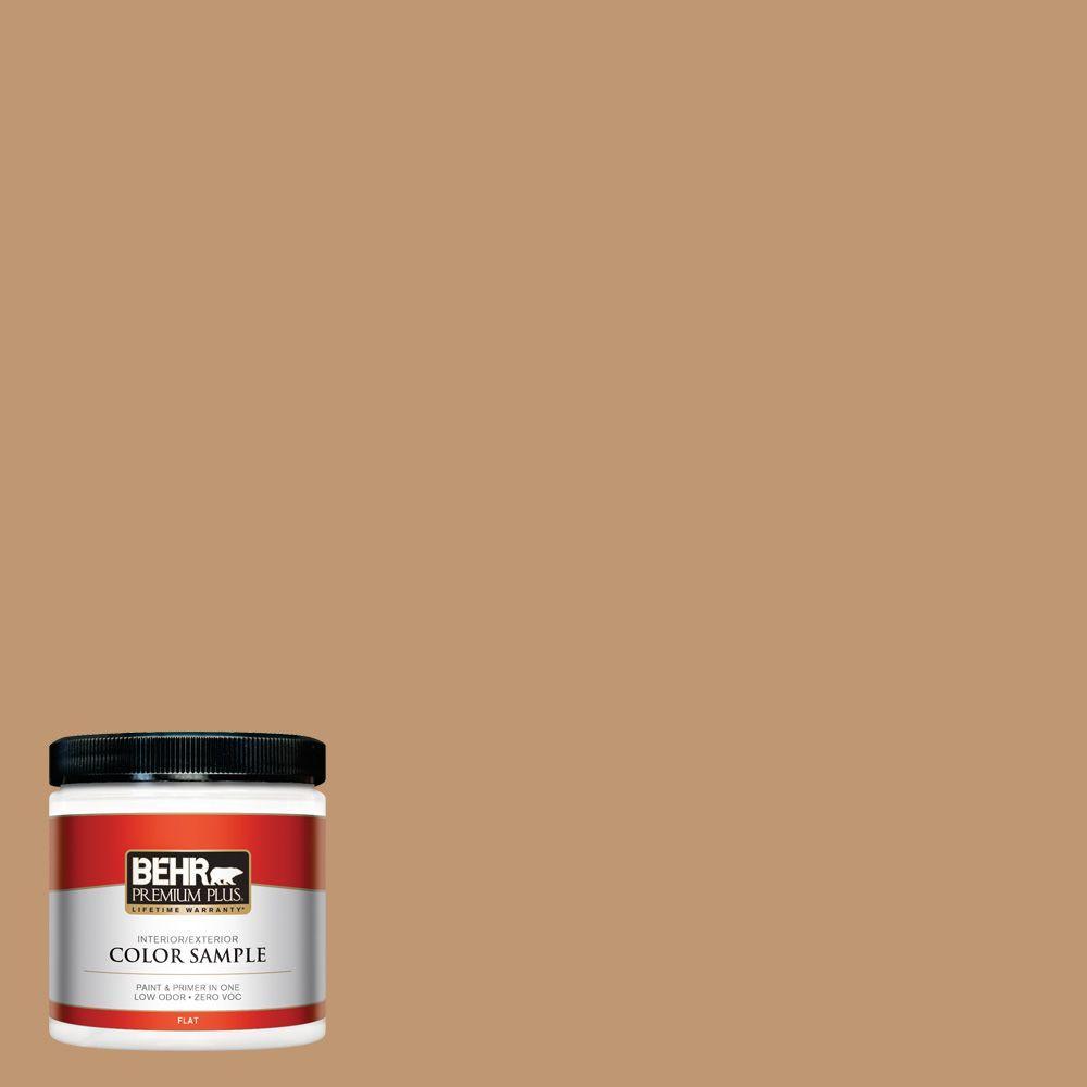 8 oz. #270F-5 Wilmington Tan Interior/Exterior Paint Sample