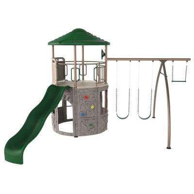 Earthtone Adventure Tower Playset